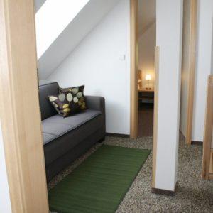 Penzion Sen | Čtyřlůžkový apartmán s kuchyňským koutem – č.A4